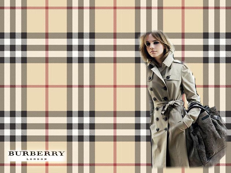 Emma Watson Burberry Wallpaper by
