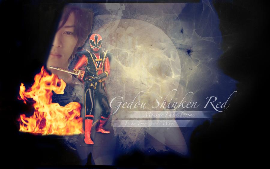 Gedou Shinken Red Wallpaper by mewpearl