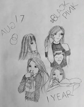BLACKPINK 1st Anniversary - DA 17th Birthday