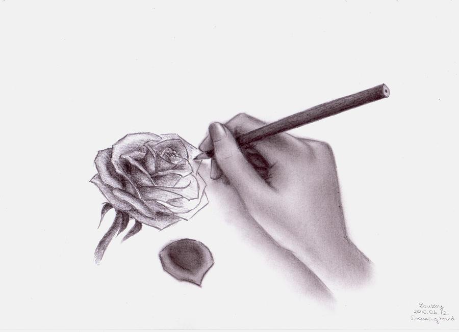 hand drawing: