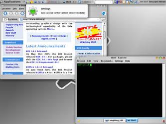 Just Compiled KDE 3.4::Default