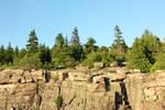 Cliff Front by RhiskandPeril