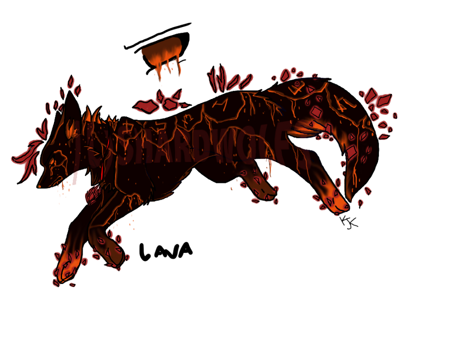 Lava Shard (CLOSED) by ShardWolf3