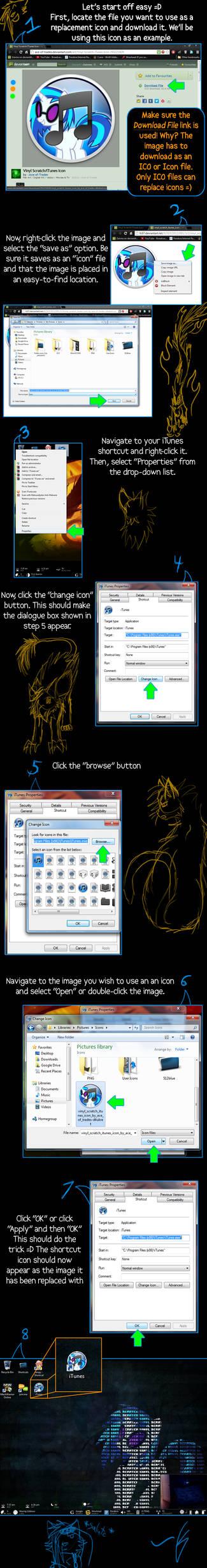Tutorial: Replacing Shortcut Icons
