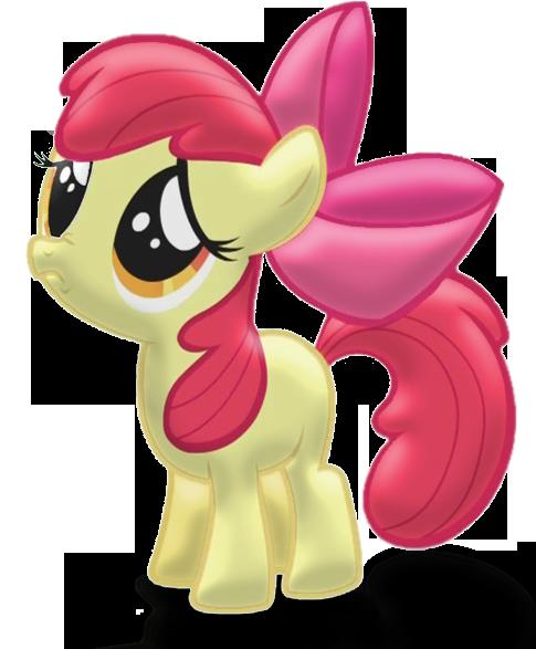 Apple Bloom is sad by dancinninjac