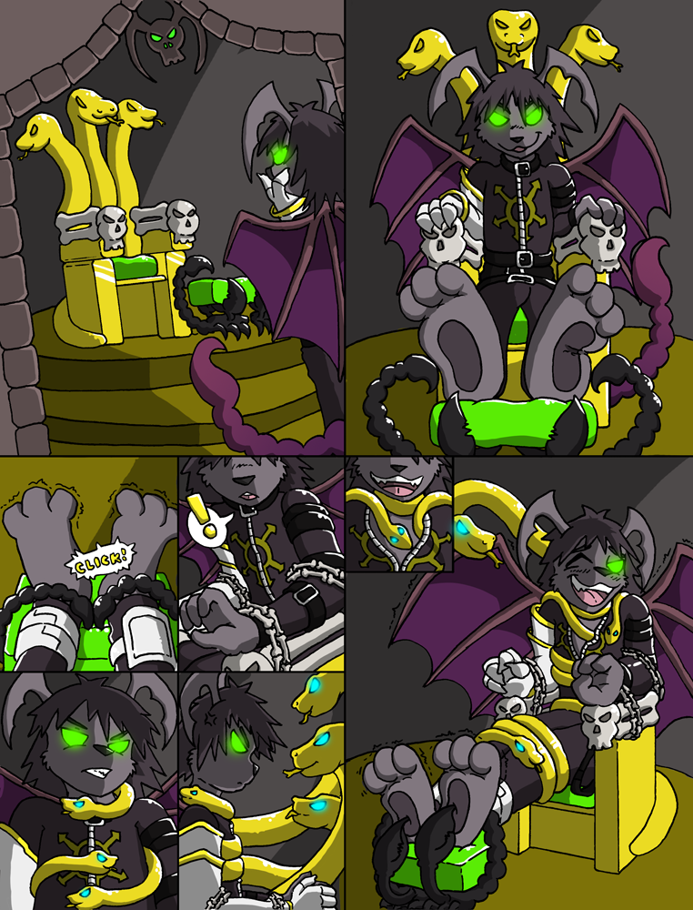 The Throne Trick by Caroos-Dungeon