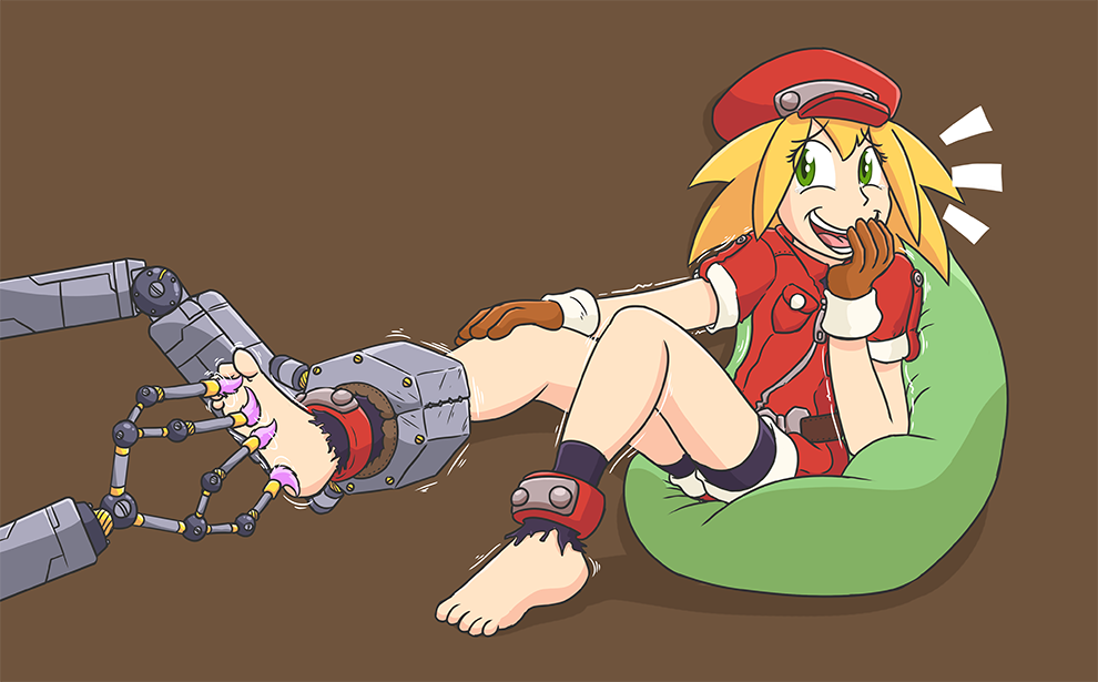Roll and the Pacification Bot by Caroos-Dungeon