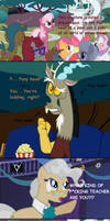 Discord is apperantly part pony.