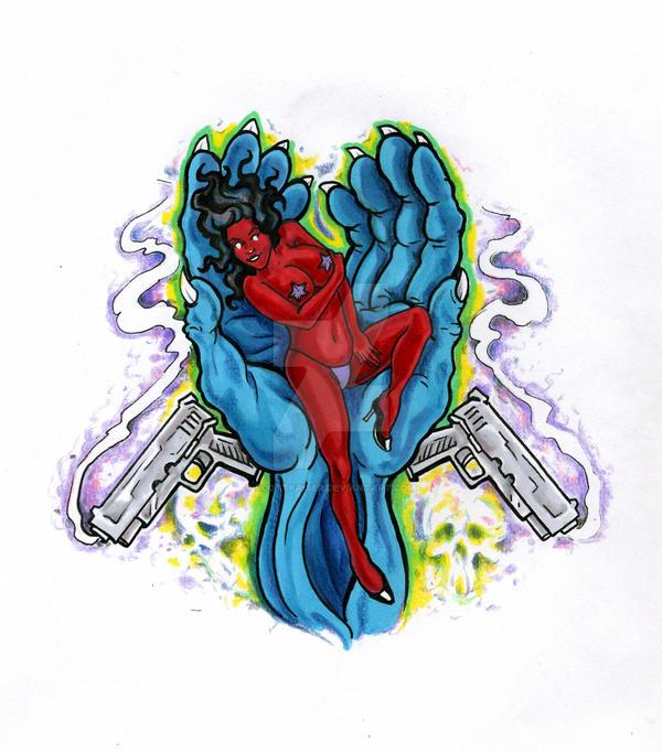 seven deadly sins- Lust by scottkaiser