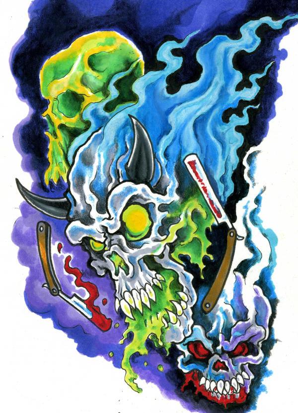 skulls,skulls,skulls by scottkaiser
