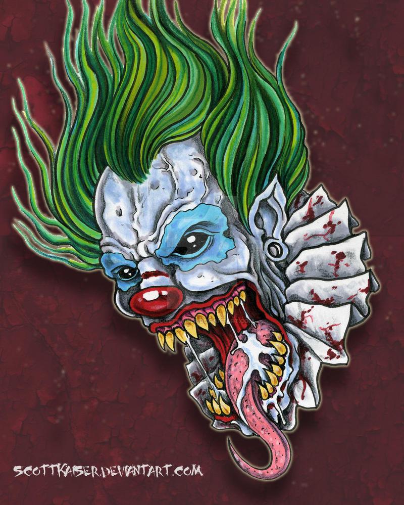 Demon Clown by scottkaiser on DeviantArt