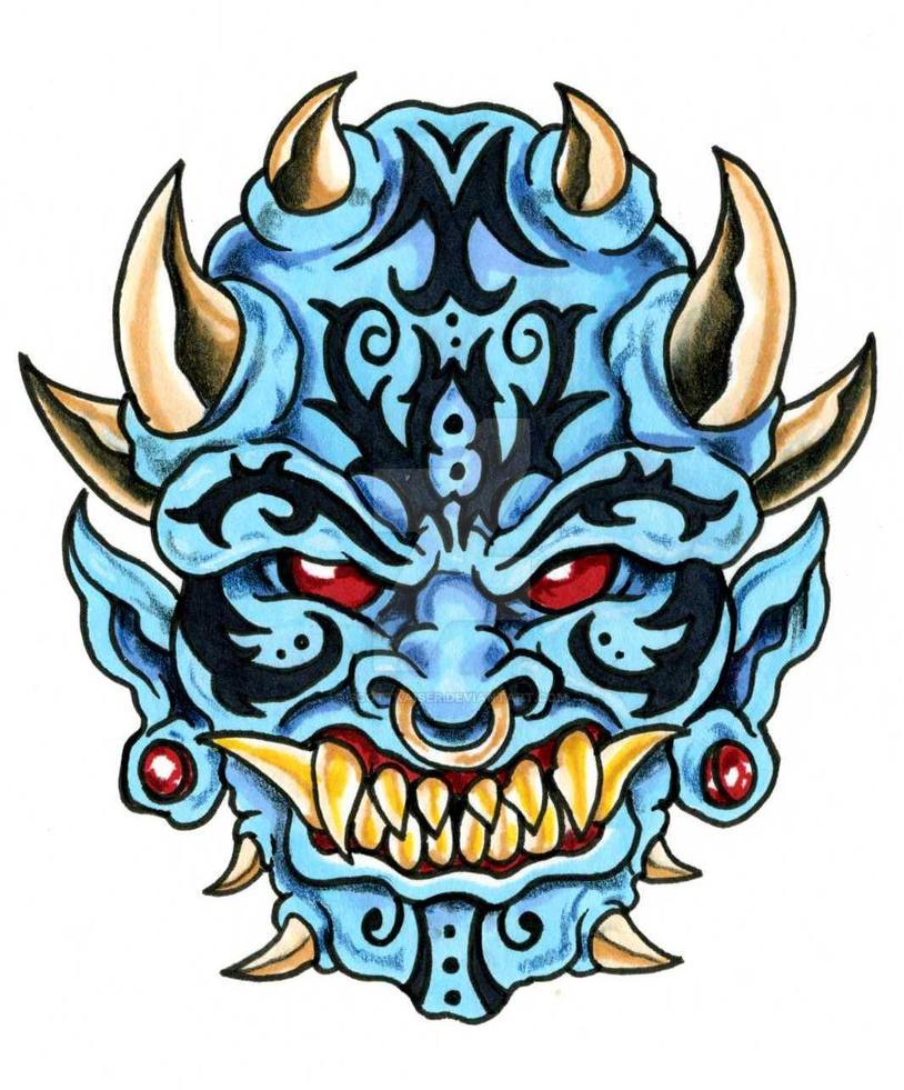 Tribal demon by scottkaiser on deviantart for Tribal tattoo shops near me
