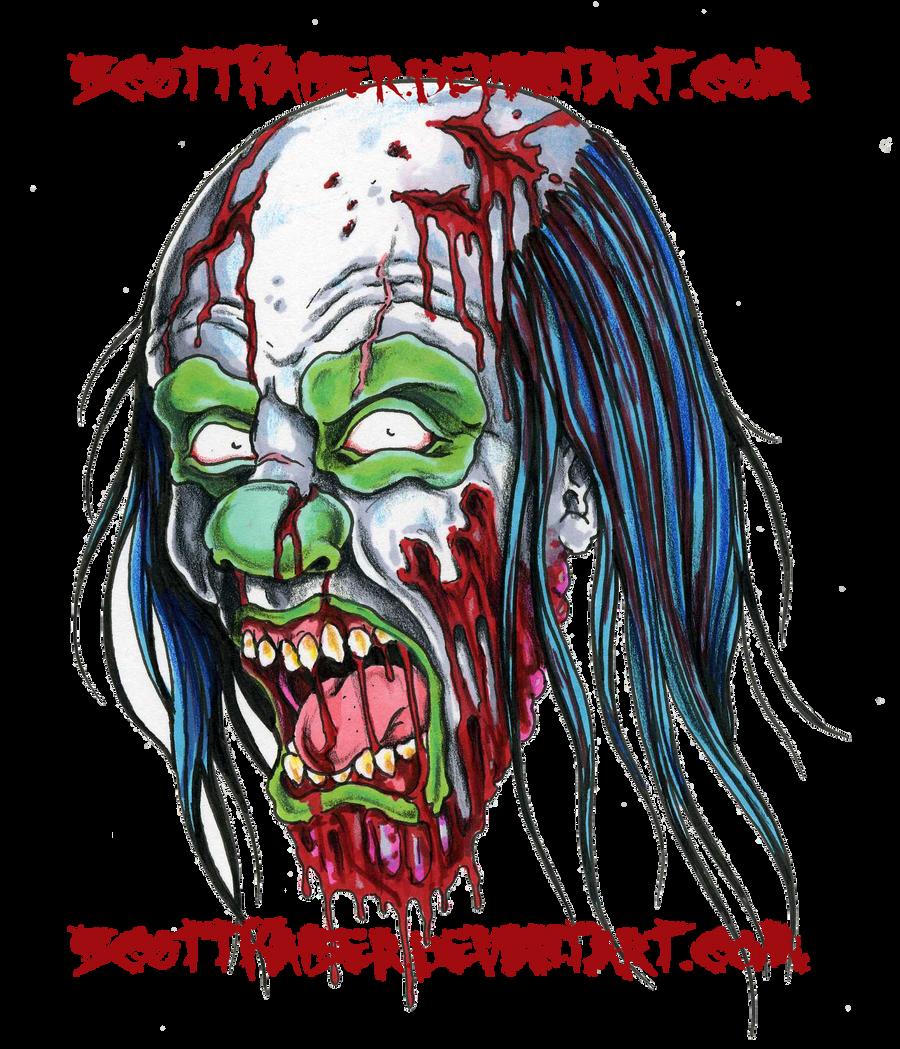 demon-clown-drawing