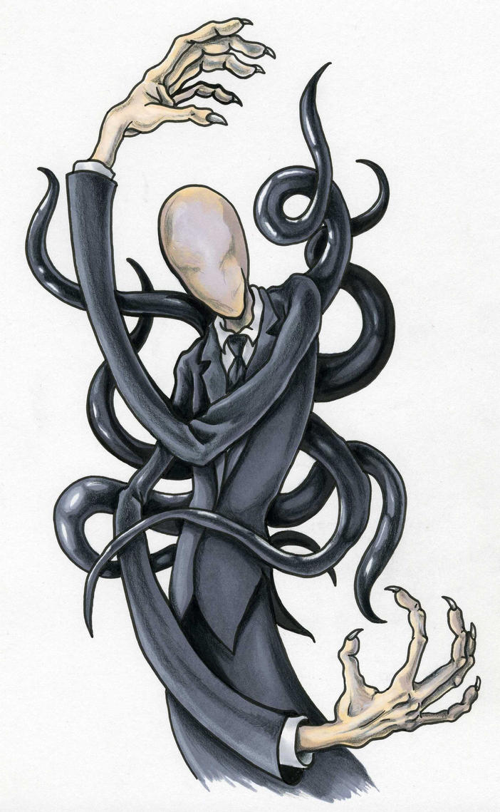 October 28: Slender Man by scottkaiser