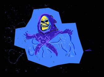 Skeletor Splatter