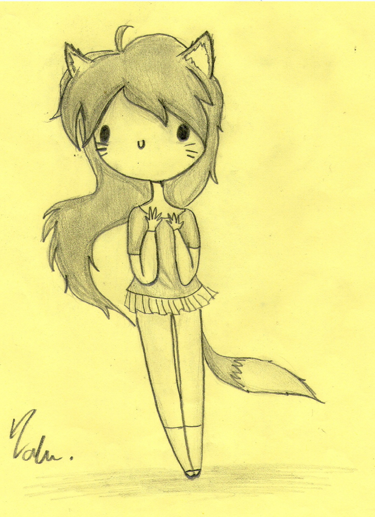 Fox Girl Drawing How to draw mr. fox