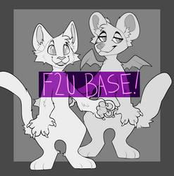 Huge free to use anthro/ furry/ fursuit base[EDIT]