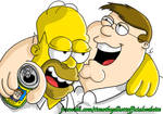 Homer and Peter