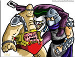 Shredder, Krang and The Joker