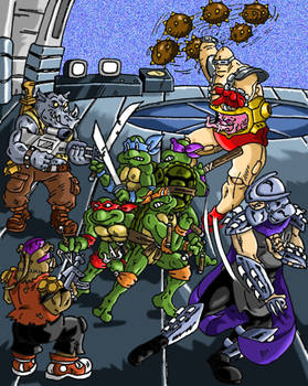 TMNT in trouble