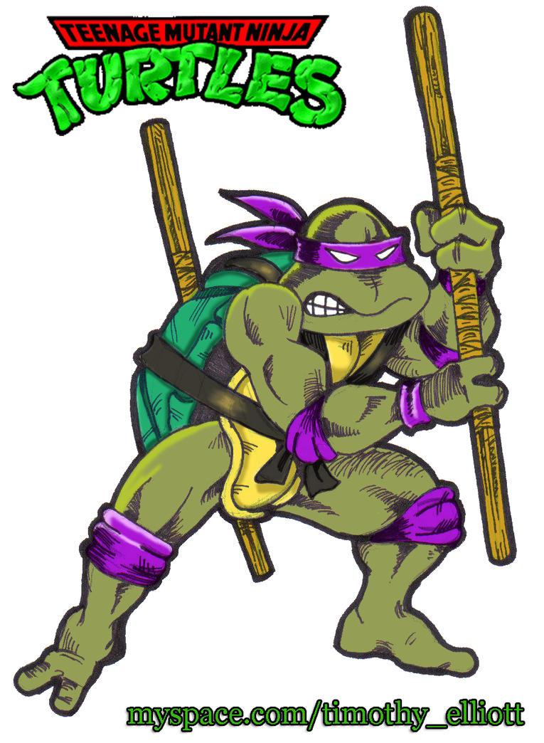 1987 Donatello Whos yo...