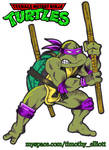 Donatello Playmates Toy Style