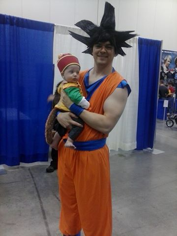 Goku and Baby Gohan! by ChibiRainbowStarr ...  sc 1 st  DeviantArt & Goku and Baby Gohan! by ChibiRainbowStarr on DeviantArt