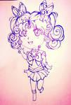 Kousagi Line-art by ChibiRainbowStarr