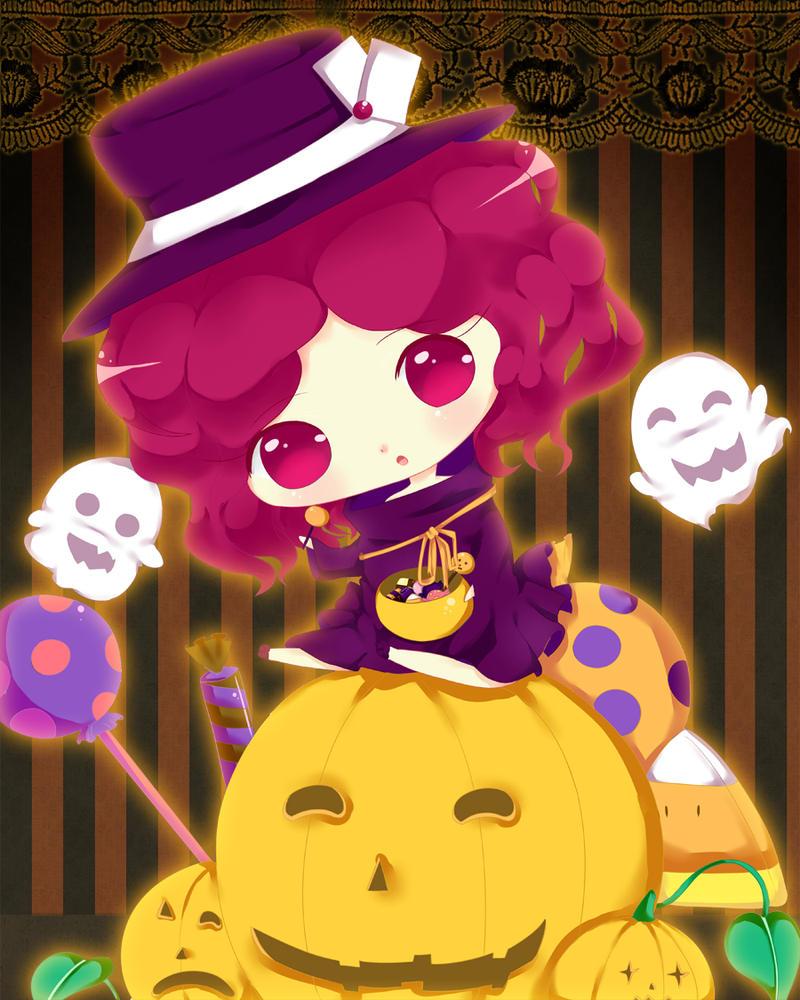 Happy Halloween Fumie by BunnyBunHime