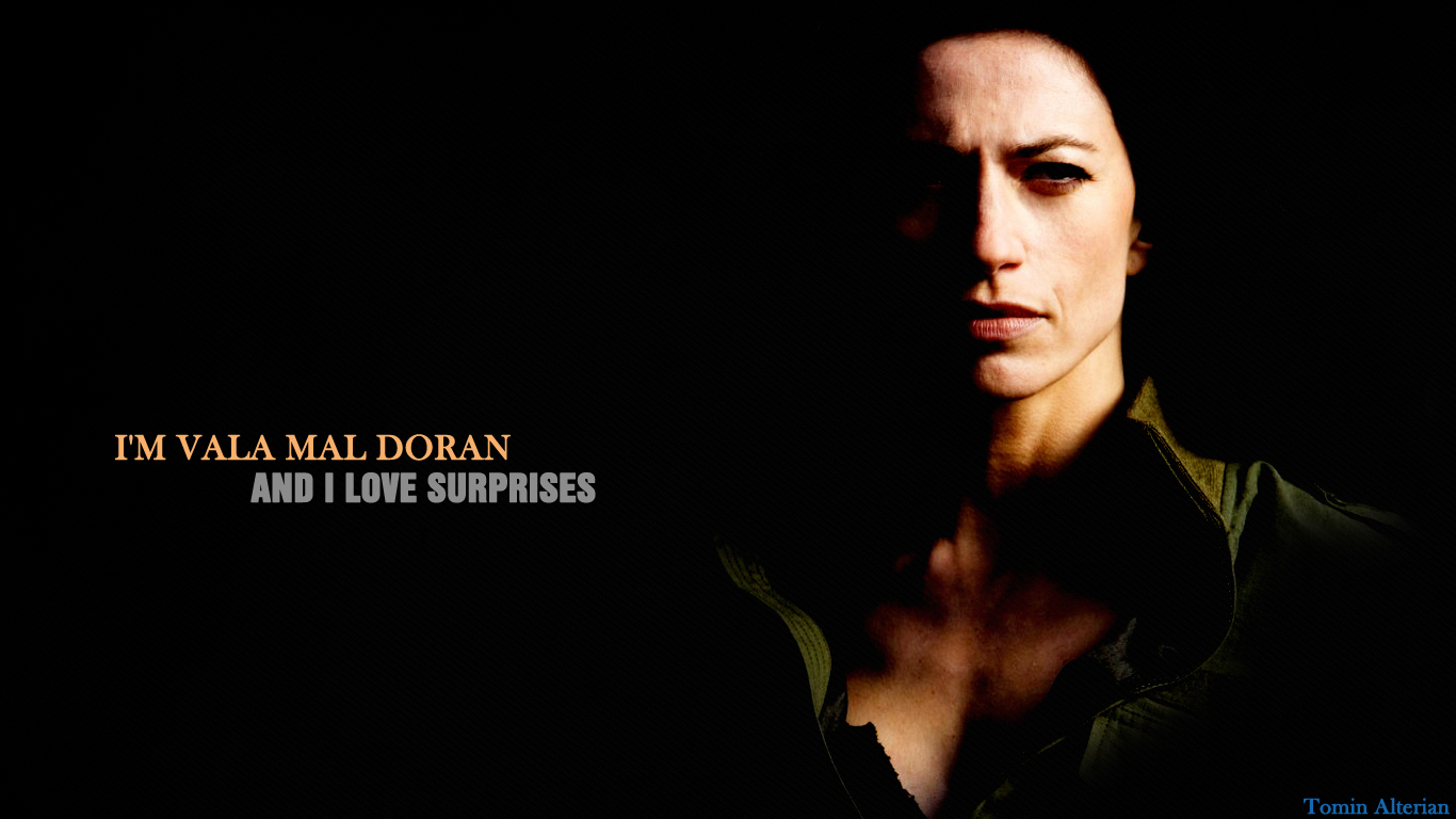 Vala Mal Doran - I love surprises by Tomin1991 on DeviantArt