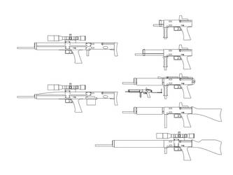 Assault Airguns and Firearm by Broommaster2000