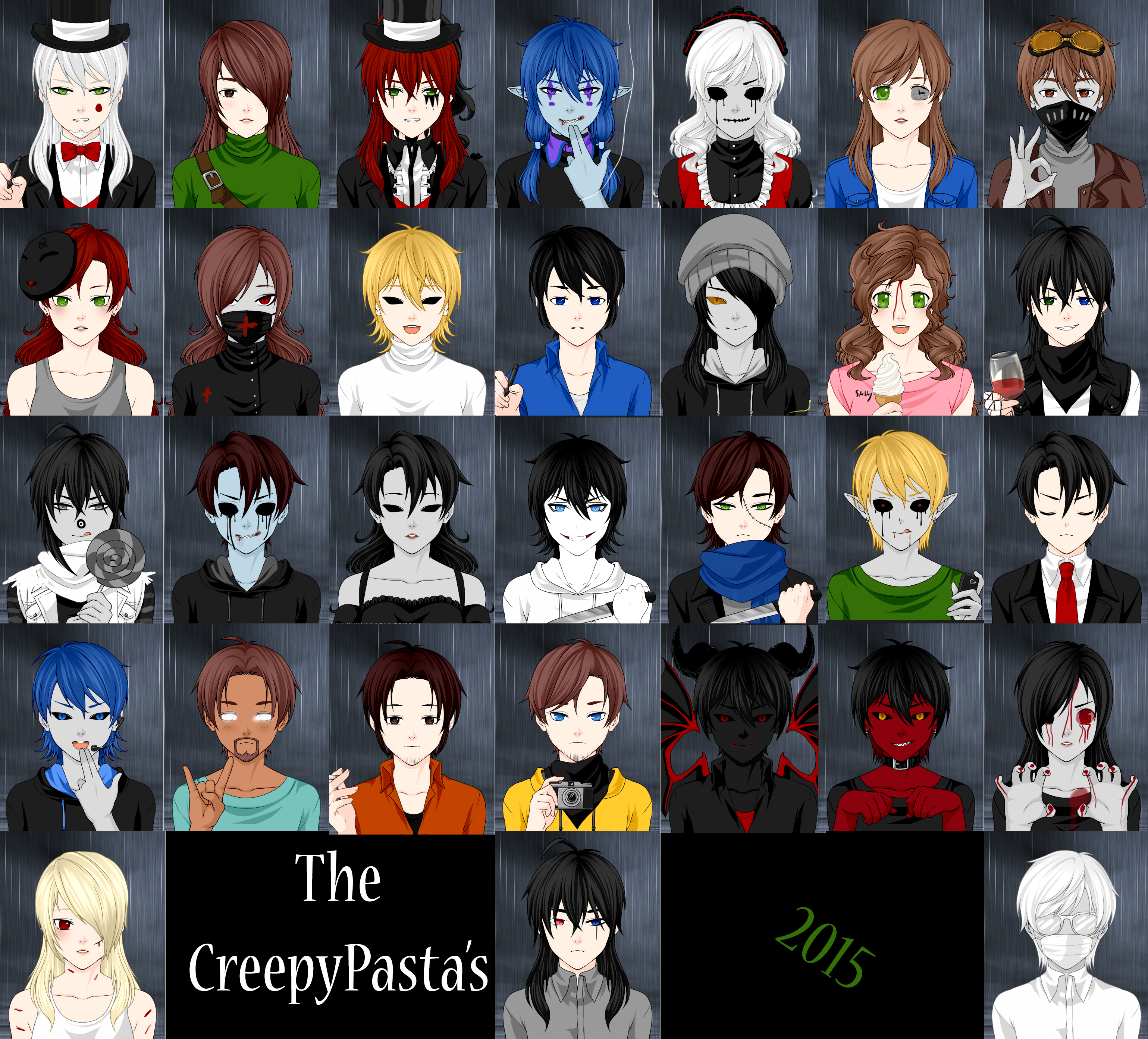 Images of Female Creepypasta Characters - www industrious info