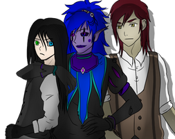 Jason toy maker, Candy pop and Nathan Nobody by TheCreepyPastaGirls