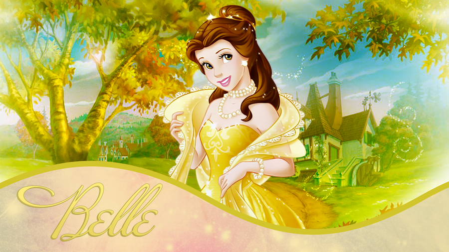 Princess Belle Wallpaper 2011 By PriMagnus2008