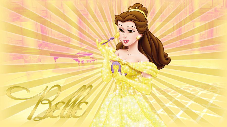 Disney Belle Wallpaper 2011 By PriMagnus2008