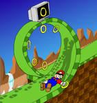 3K rq- Mario in Emerald Hill