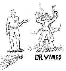 Mark Man and Dr Vines