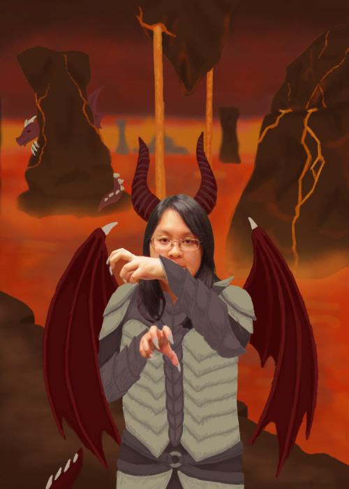 Dragon Lady by BlizzardBear1