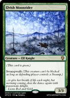 Elvish Moonrider by SpecialGuestStar