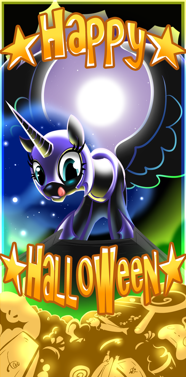 Happy Nightmaremoon by pupupu6000