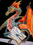 dragon full of color