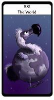 Tarot Dodo World by hippogriffon