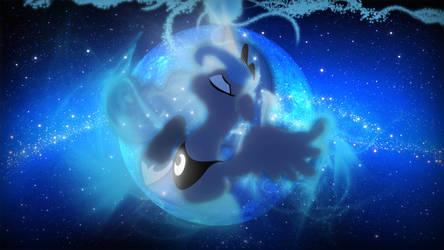 Luna Blu Moon by Doidero