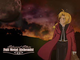 Edward Elric Wallpaper by Tildhanor