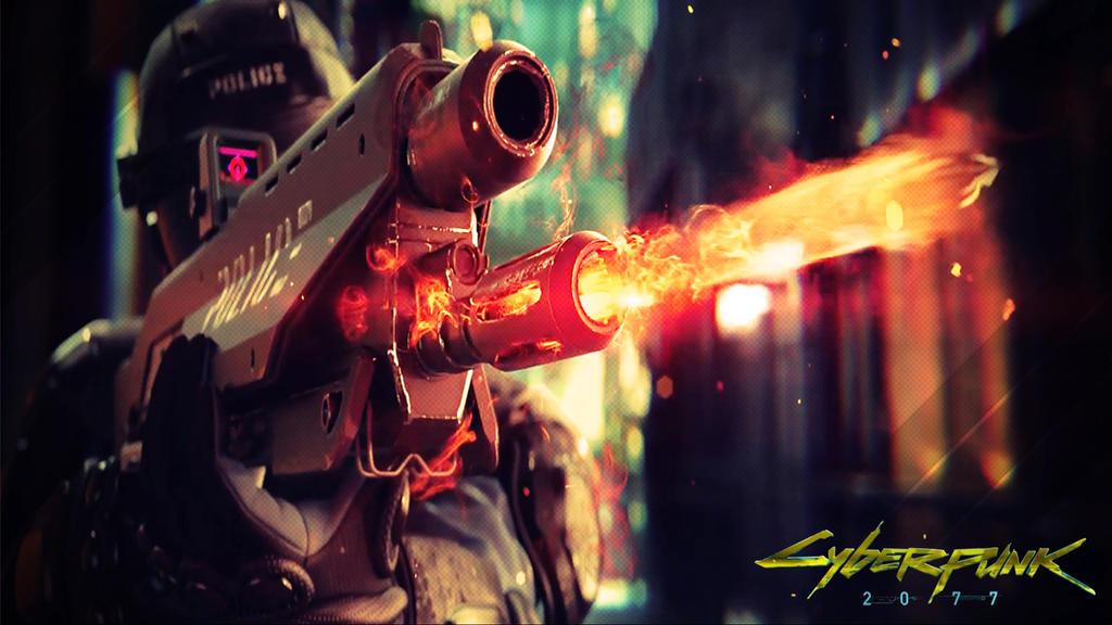 Cyberpunk 2077 wallpaper01 by Romix44
