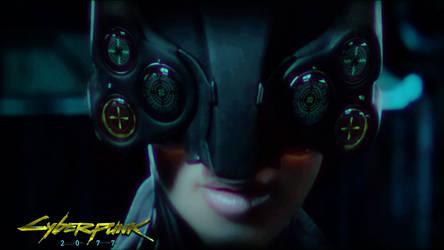 cyberpunk 2077 wallpaper girl