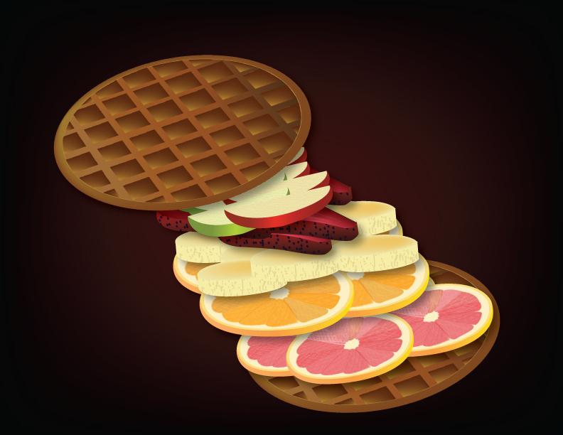 Fruit sandwich by Scarletmarie16