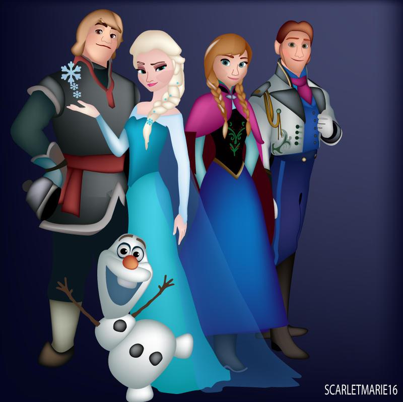 Frozen by Scarletmarie16