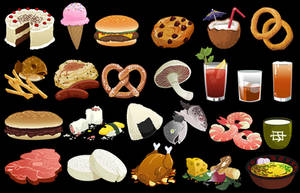 Food by pokketmowse