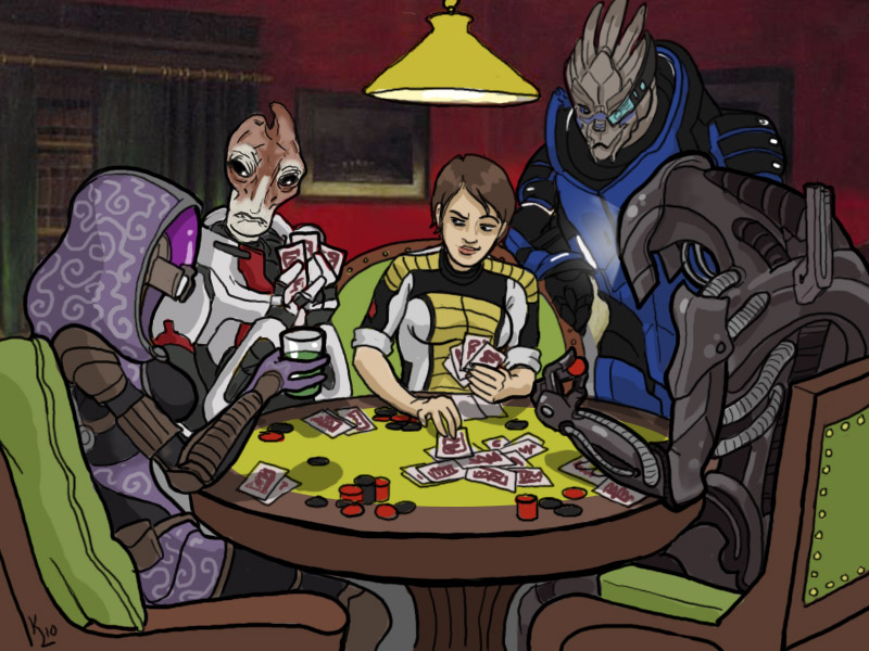 Skyllian-Five Poker by pokketmowse